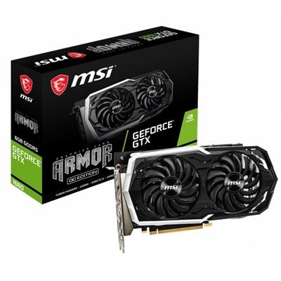 MSI VGA NVIDIA GTX 1660 ARMOR 6GB OC DDR5