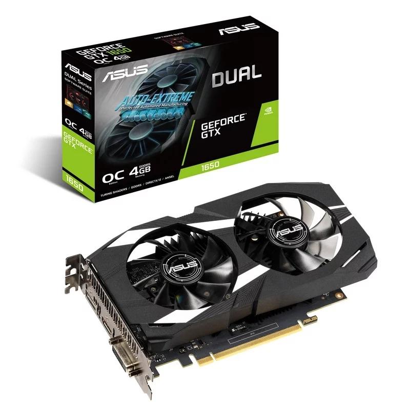 Asus VGA NVIDIA GTX 1650 DUAL OC 4GB DDR5