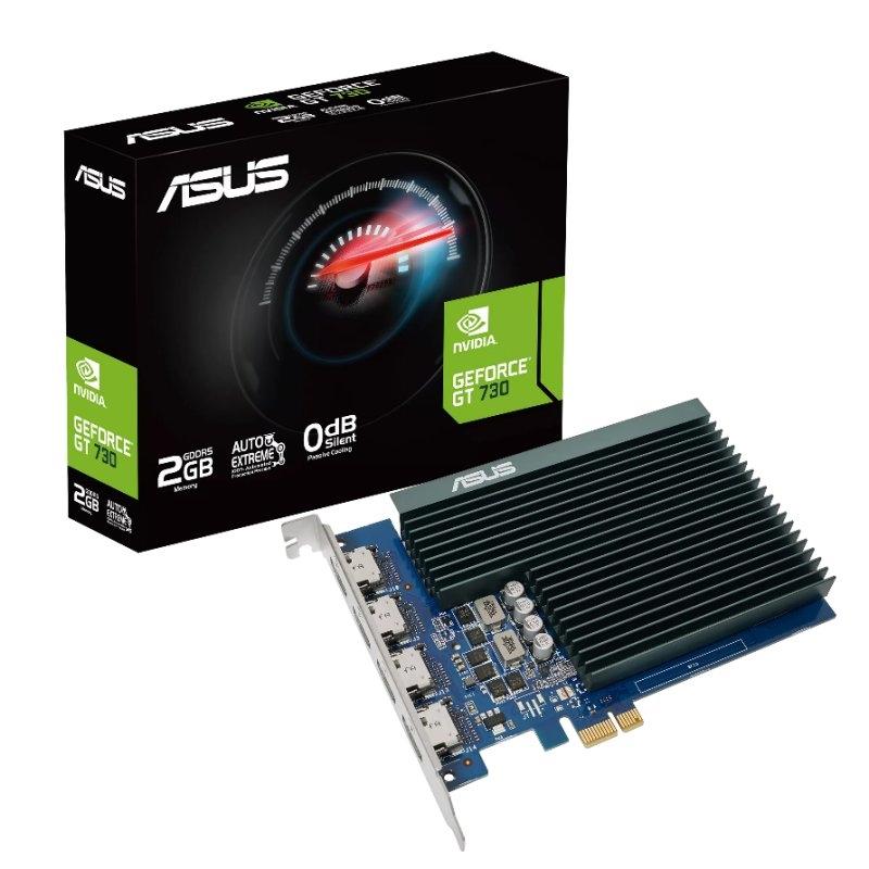 ASUS VGA NVIDIA GT 710-4H-SL-2GD5 2GB DDR5