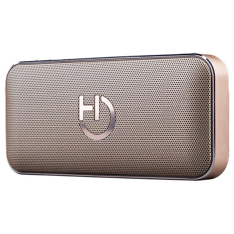 Hiditec Altavoz 2.0 Harum 10W Oro BT+SD+PW