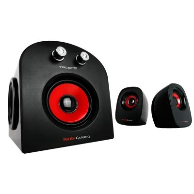 Mars Gaming Altavoces 2.1 MS2 20W RMS USB