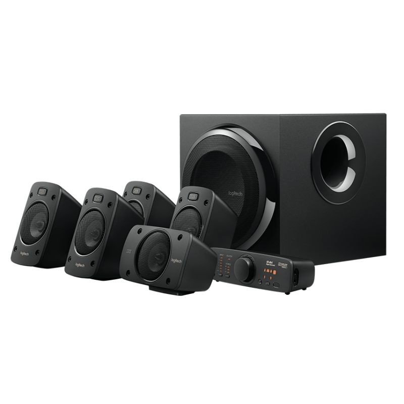 Logitech Altavoces 5.1 Z906 1000W 5.1 THX Digital
