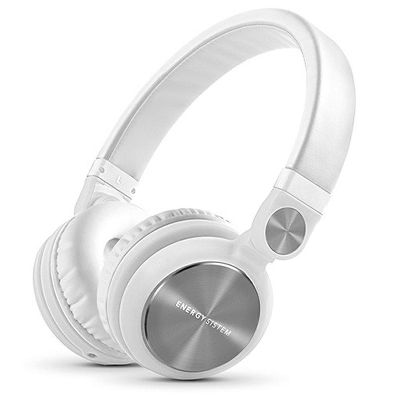 Energy Sistem Auricular+Mic DJ2 Blancos