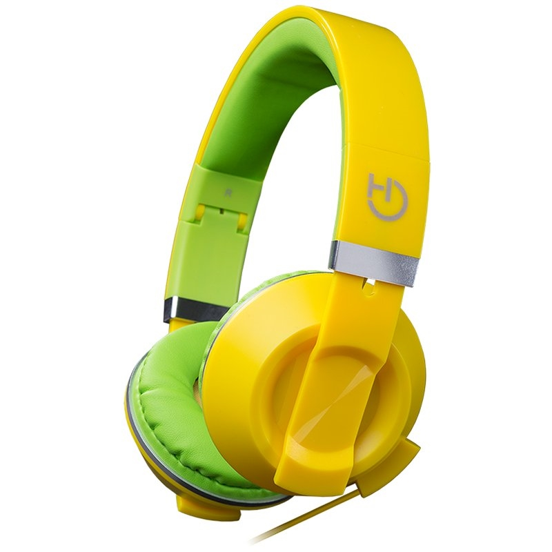 Hiditec Auricular+Mic Cool Kids Amarillo