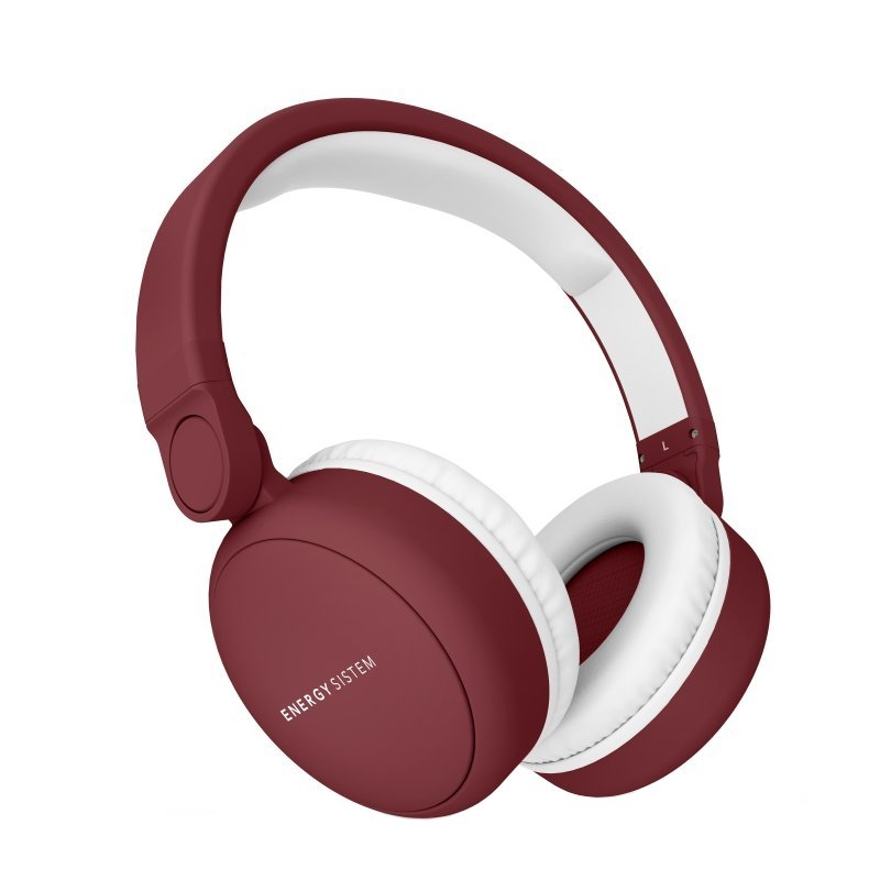 Energy Sistem Auriculares+Mic 2 Bluetooth Ruby Red