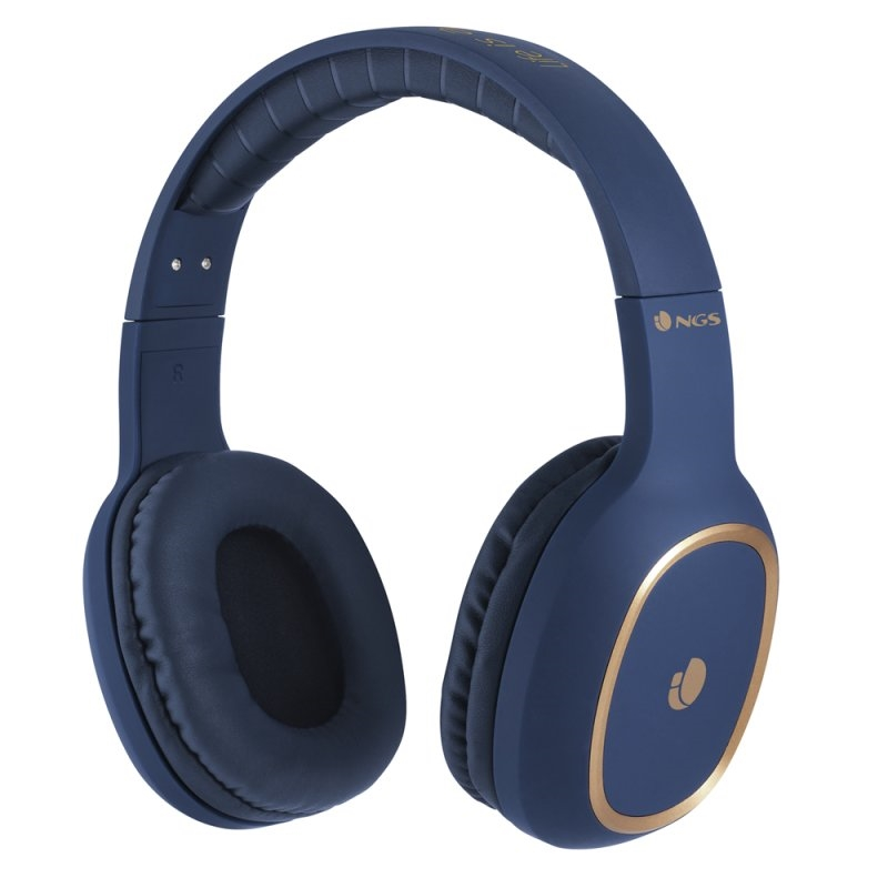 NGS Auriculares Inalámbricos Bluetooth Azul