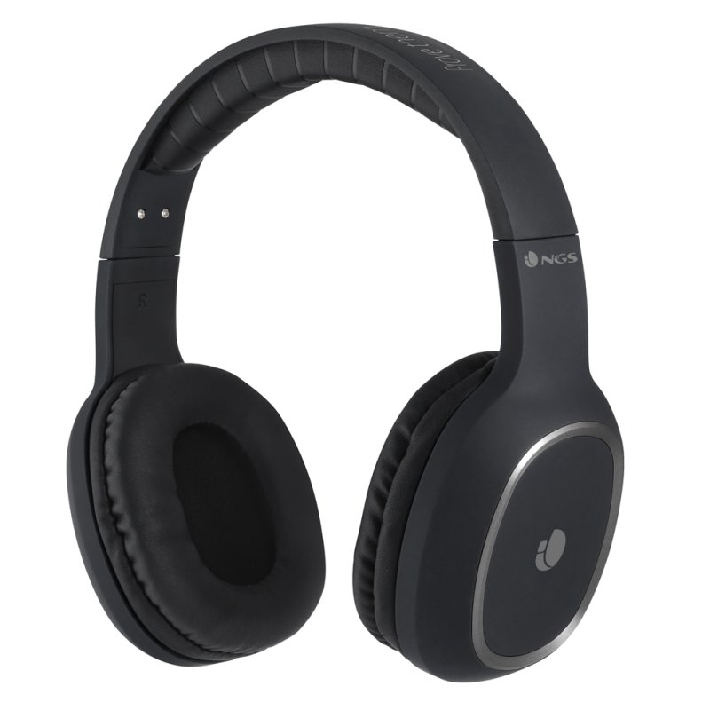 NGS Auriculares Inalámbricos Bluetooth Negro