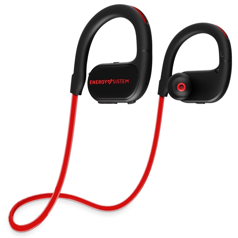 Energy sistem Auricular BT Running 2 Neon Red