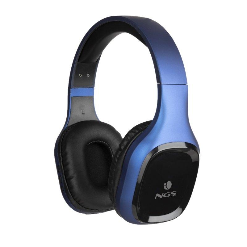 NGS Auriculares inalámbricos BT Azul