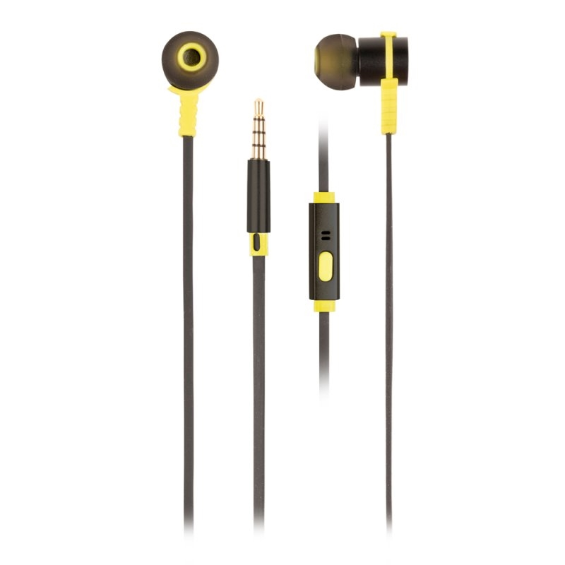 NGS Auriculares metálicos cplano 1.2m Negro