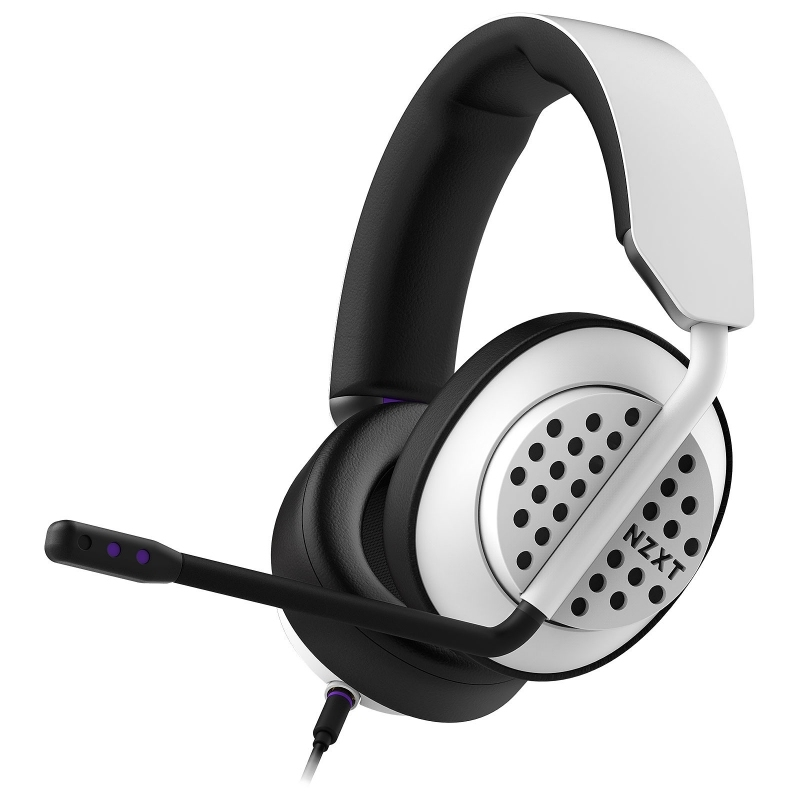 NZXT Auricular AER Open Wired Stereo Blanco