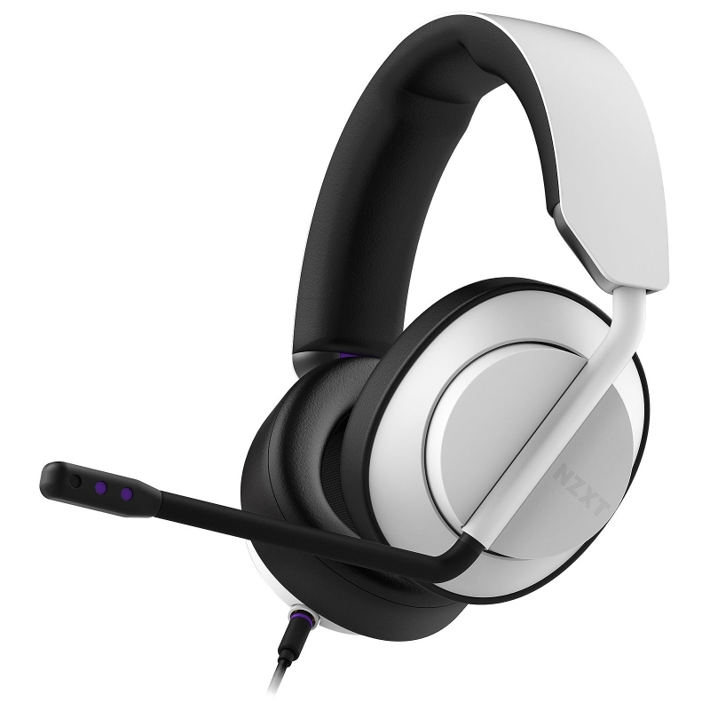 NZXT Auricular AER Close Wired Stereo Blanco