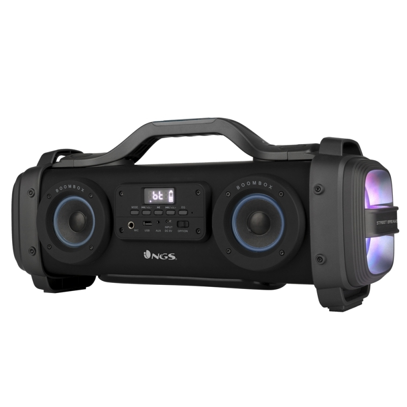 NGS Boombox True Wireless 200W-BT-USB-MicroSD
