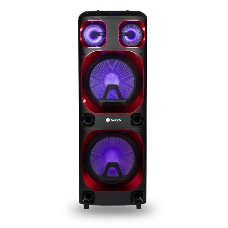 NGS Torre de Sonido Wildska2 800W  DJ bt