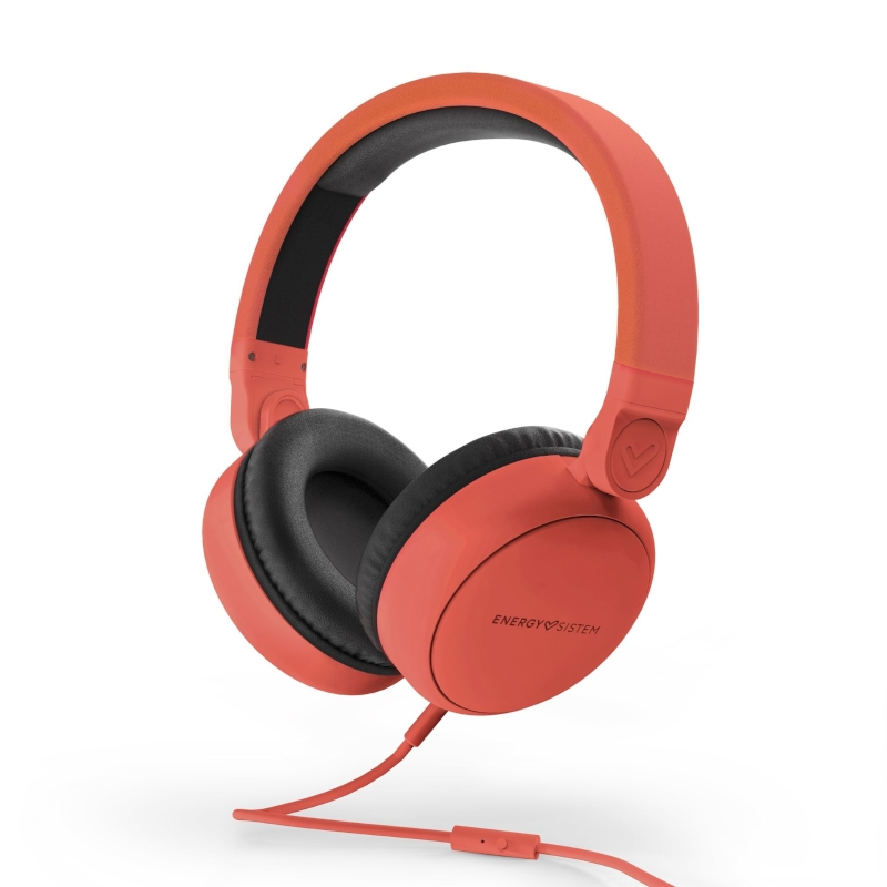 Energy Sistem Auricular Style 1 Talk Chili red