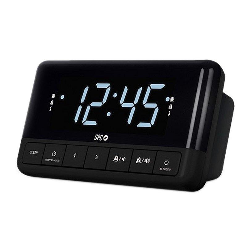 SPC Radio despertador 4580N Floki Negro