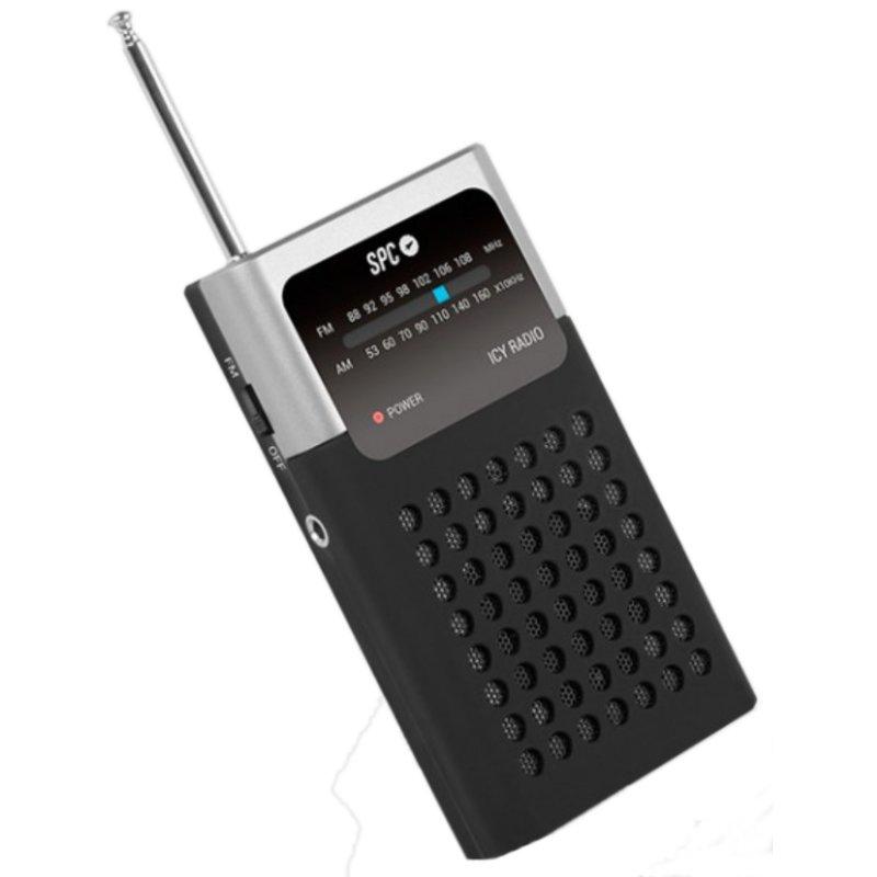 SPC Radio analógico de Bolsillo AM/FM