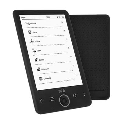 """SPC eBook 6"""" Dickens 4GB T.electrónica Negro"""