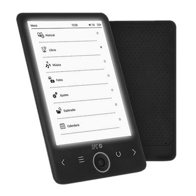 "SPC eBook 6"" Dickens Light 4GB T.electrónica Negro"