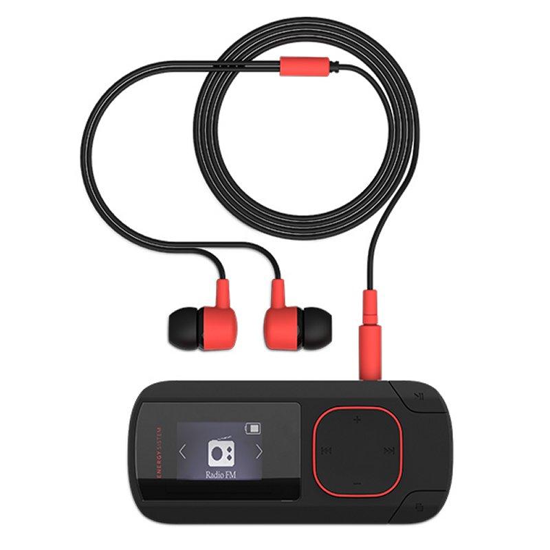 Energy Sistem MP3 Clip Bluetooth 8GB Radio Coral