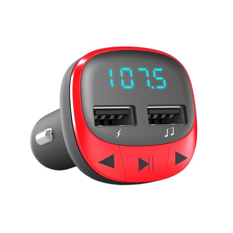 Energy sistem Car Transmitter FM Red (microSD,MP3)