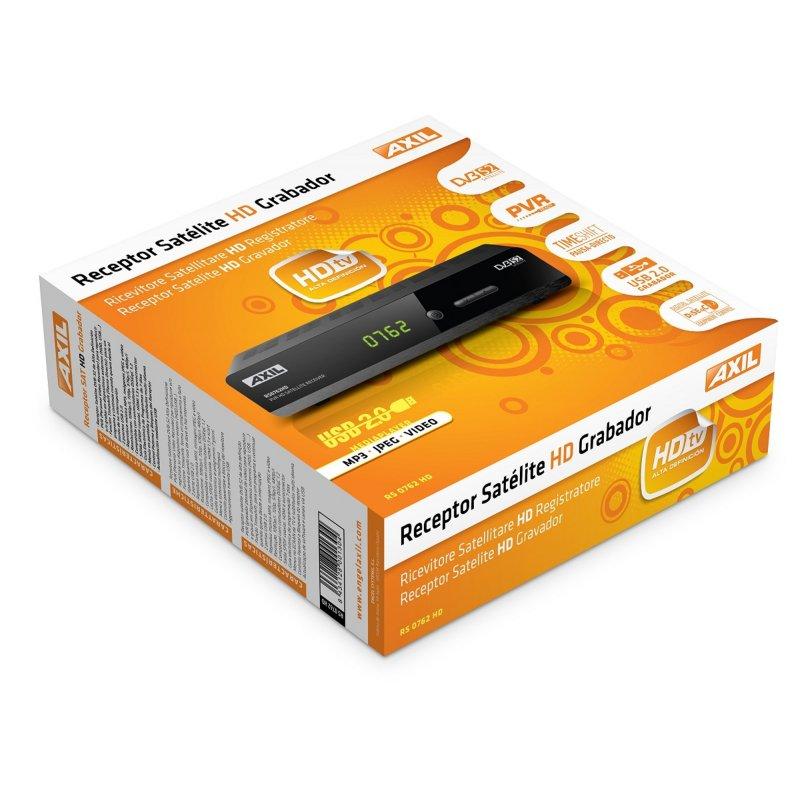 Engel Receptor Satélite RS0762HD Grabador hdmi