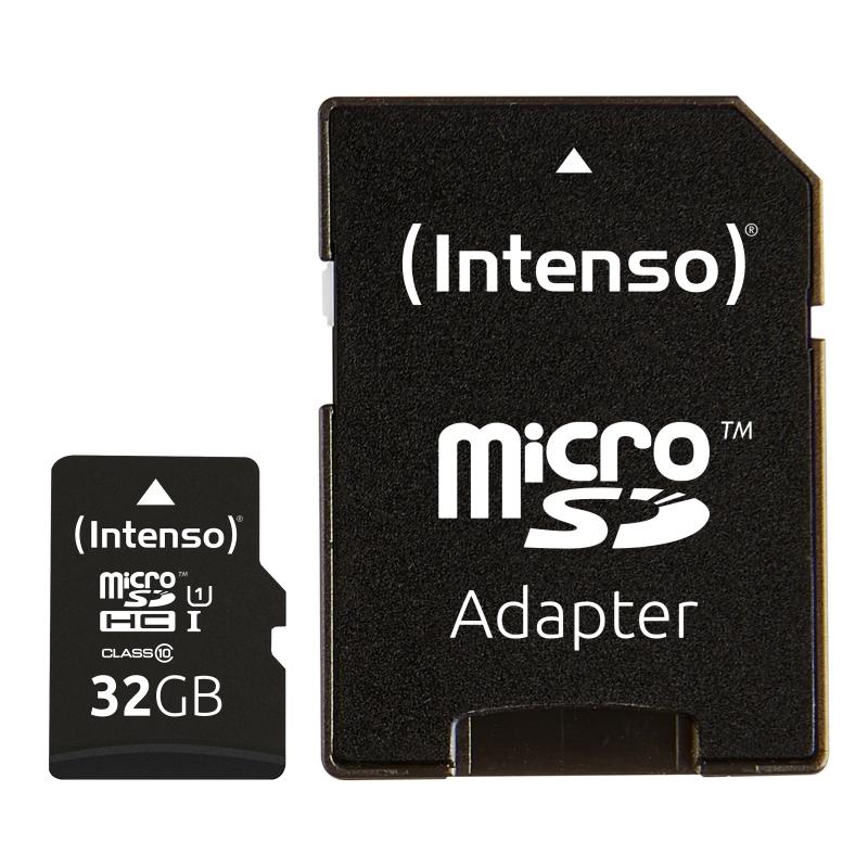 Intenso 3423480 Micro SD UHS-I Premium 32GB c/adap