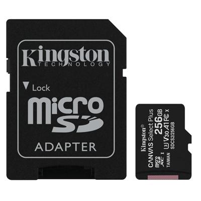 Kingston SDCS2/256GB microSD XC clase 10 256GB c/a