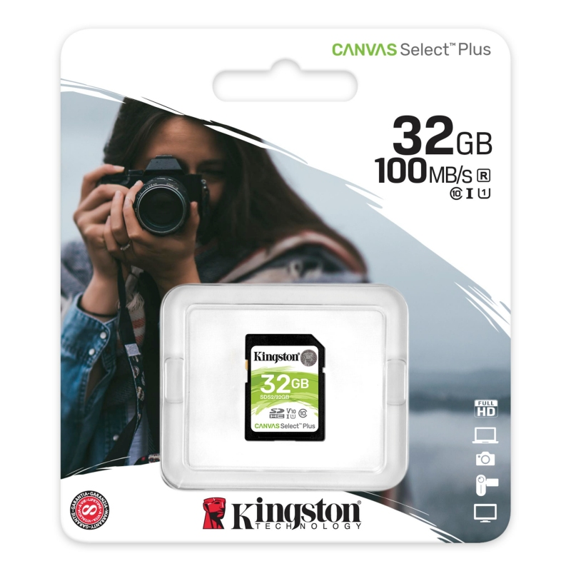 Kingston SDS2/32GB SD XC 32GB clase 10