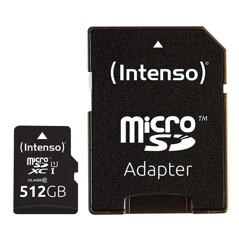 Intenso 3423493 Micro SD UHS-I Premium 512G c/adap