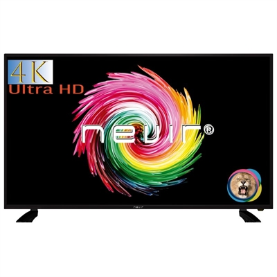 NEVIR 7903 TV 55 PULGADAS LED 4K UHD USB HDMI NEGRA