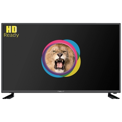 NEVIR 7702 TV 39 PULGADAS LED HD USB DVR HDMI NEGRA