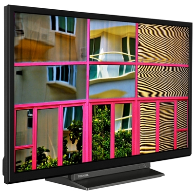 TOSHIBA 24WL3C63DG TV 24 PULGADAS STV HD 2XHDMI USB PEANA