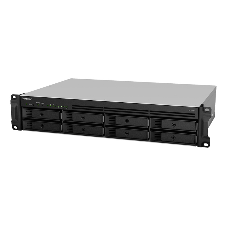 SYNOLOGY RS1219+ NAS 8Bay Rack Station