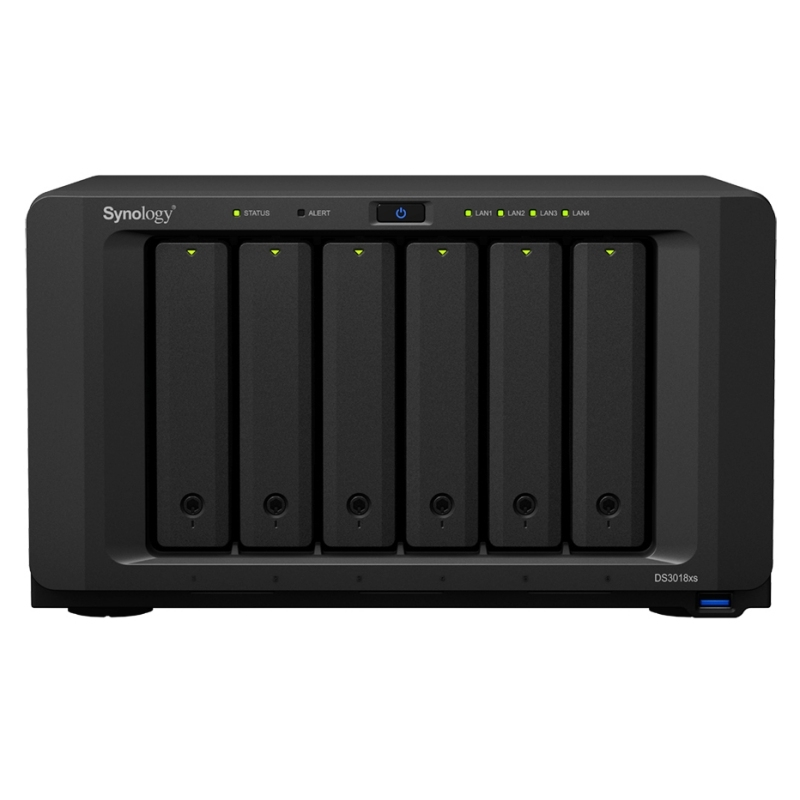 SYNOLOGY DS3018xs NAS 6Bay Disk Station