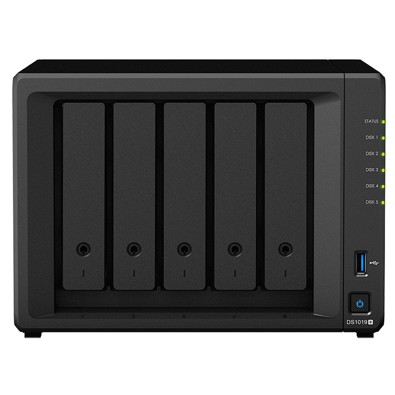 SYNOLOGY DS1019+ NAS 5Bay Disk Station