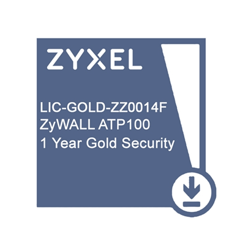 ZyXEL Licencia GOLD ATP100 Security Pack 1 Año