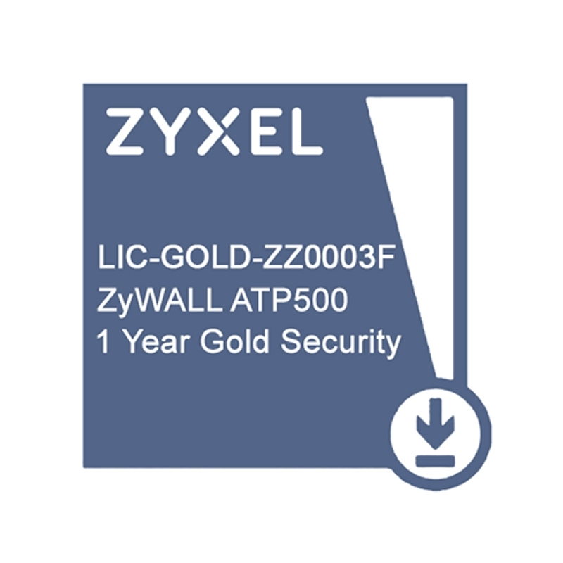 ZyXEL Licencia GOLD ATP500 Security Pack 1 Año
