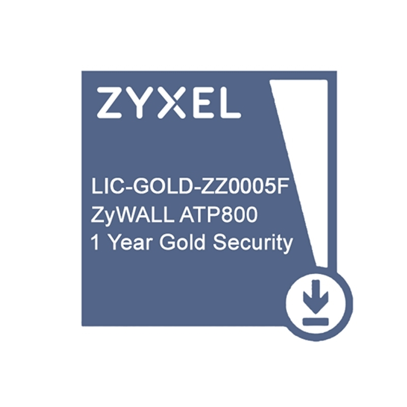 ZyXEL Licencia GOLD ATP800 Security Pack 1 Año