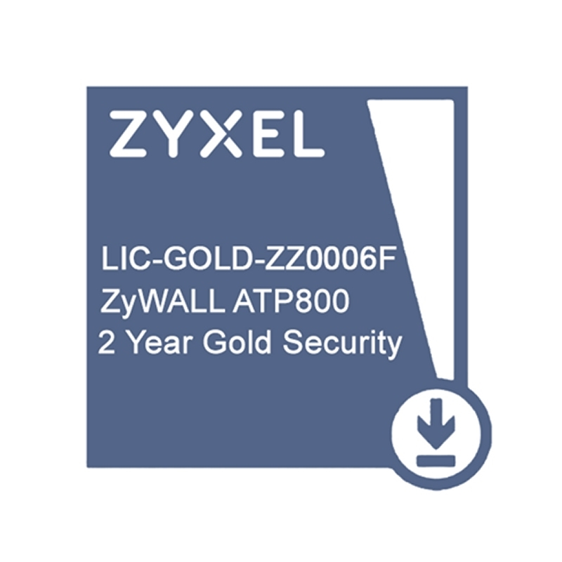 ZyXEL Licencia GOLD ATP800 Security Pack 2 Años