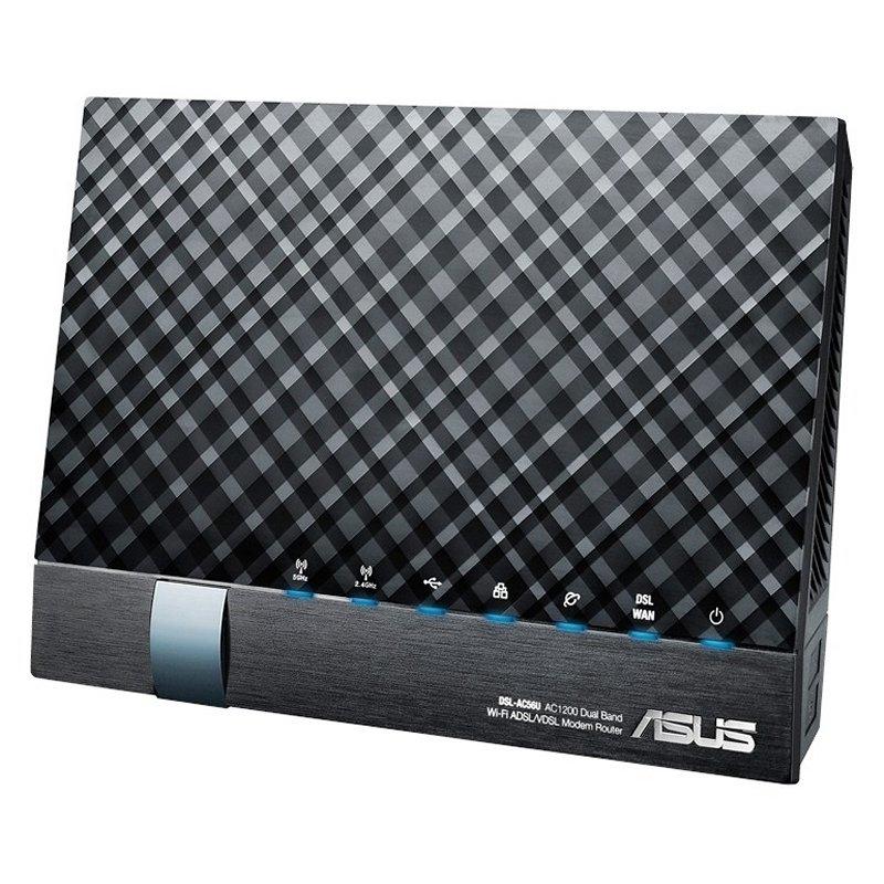 ASUS DSL-AC56U Router ADSL2+ AC1200 5P 2xUSB 2.0