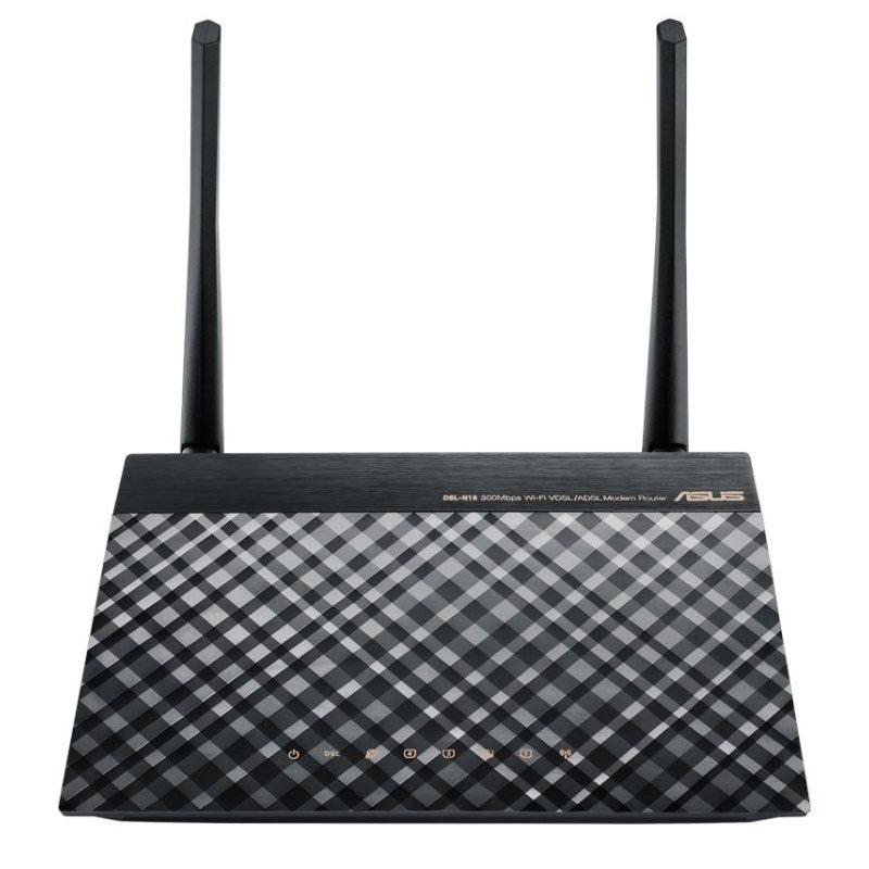 ASUS DSL-N16 Router ADSL2+ N300 4P 10/100Mbps