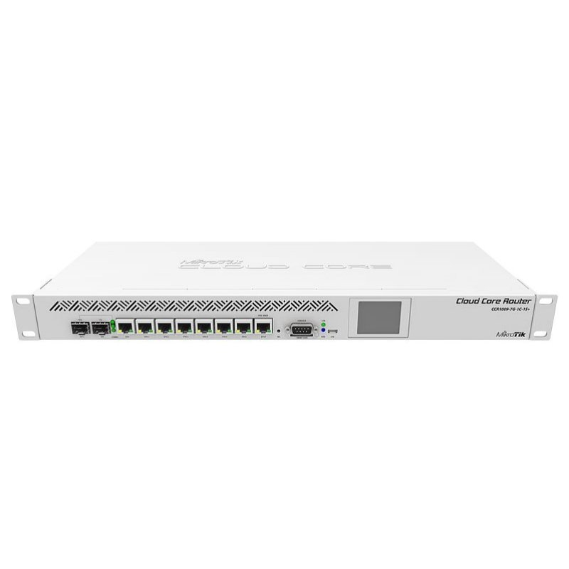 MikroTik CCR1009-7G-1C-1S+ Router 7xGB 1xSFP+ L6