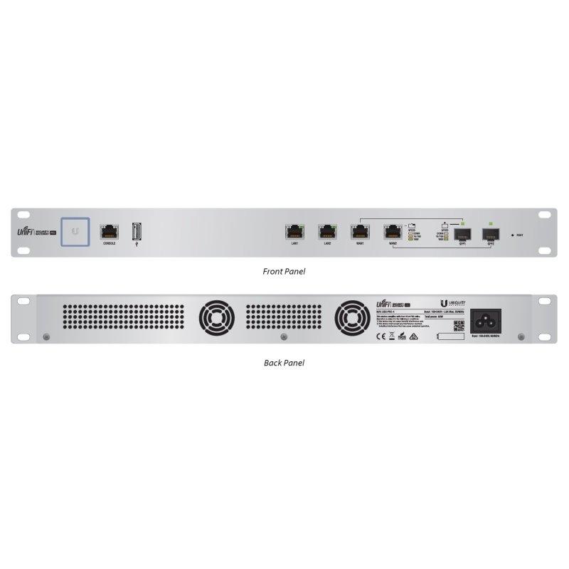 Ubiquiti UniFi Security Gateway USG-Pro-4