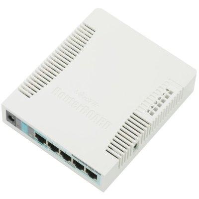 MikroTik RB951G-2HnD 5xGB 2.4GHz L4