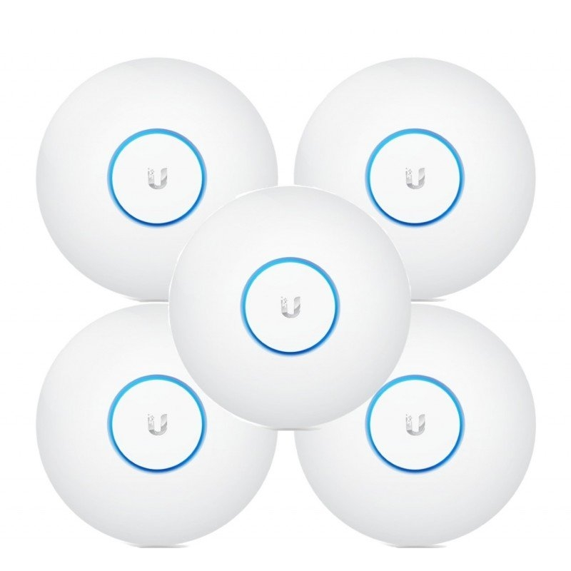 Ubiquiti UniFi UAP-AC-LR Dual Band PoE Pack 5