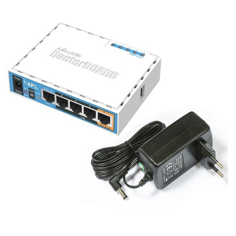 MikroTik RB952Ui-5ac2nD hAP AC Lite 5x10/100 5GHz