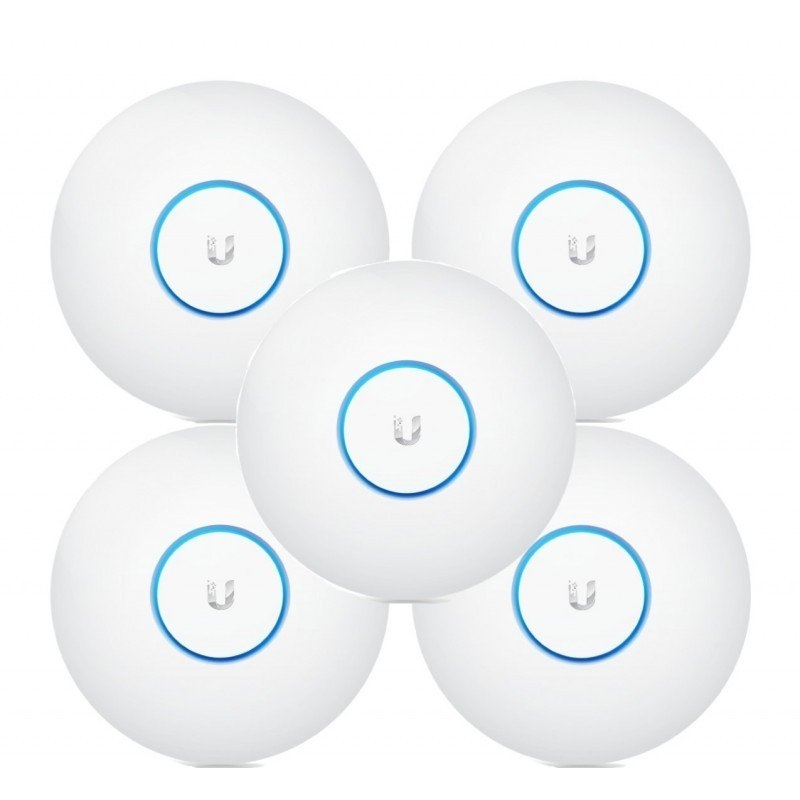 Ubiquiti UniFi UAP-AC-LITE Dual Band PoE Pack 5