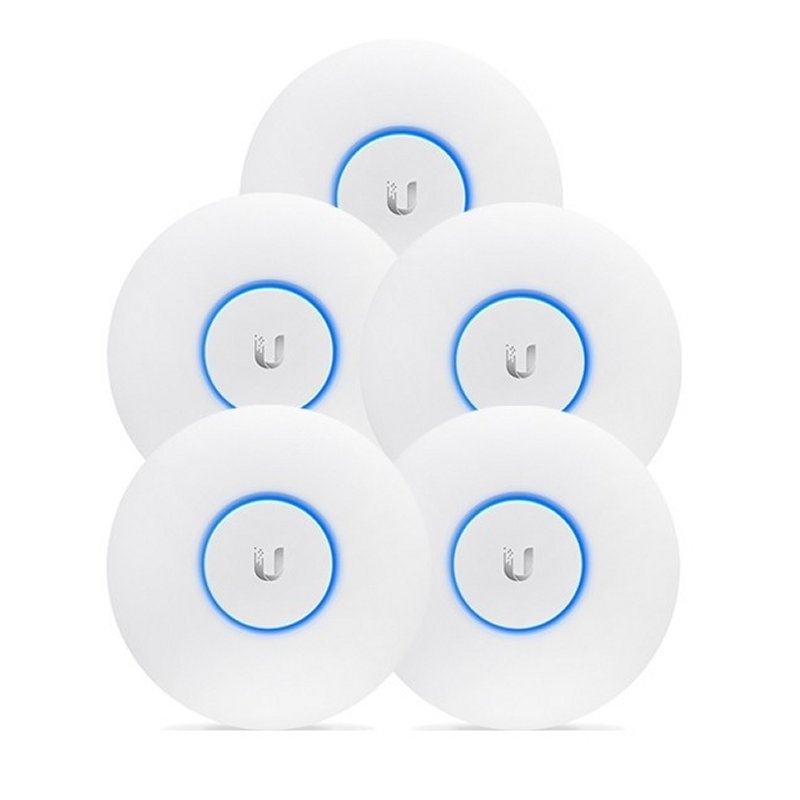 Ubiquiti UniFi UAP-AC-HD Dual Band PoE+ Pack 5
