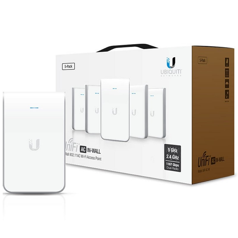 Ubiquiti UniFi AC In-Wall UAP-AC-IW Dual Band Pack